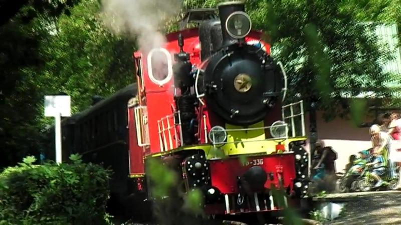 Паровоз ГР-336, Київська дитяча залізниця