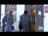Активисты «Антимайдана» в Кирове вручили Навальному ватник с надписью «Леша вор»
