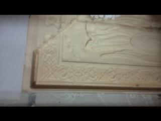 Фрезерование деревяной картины