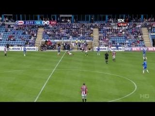 Первая Английская Лига 2016-17 / 6 тур / Гиллингем - Шеффилд Юнайтед / 1 тайм