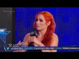 Talking Smack Becky Lynch Reflects on Naomi's Situation