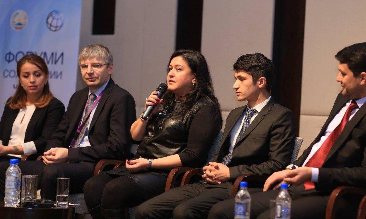 В Душанбе прошел Форум молодежного предпринимательства