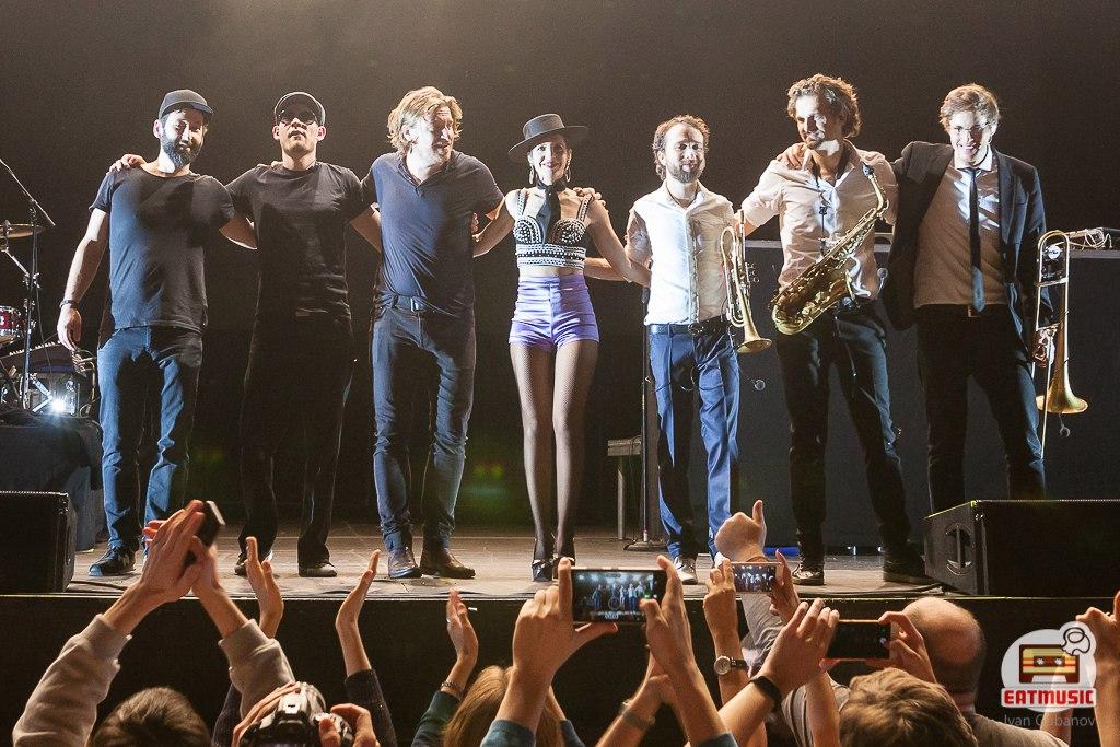 Концерт Parov Stelar в Москве: фотограф Иван Губанов