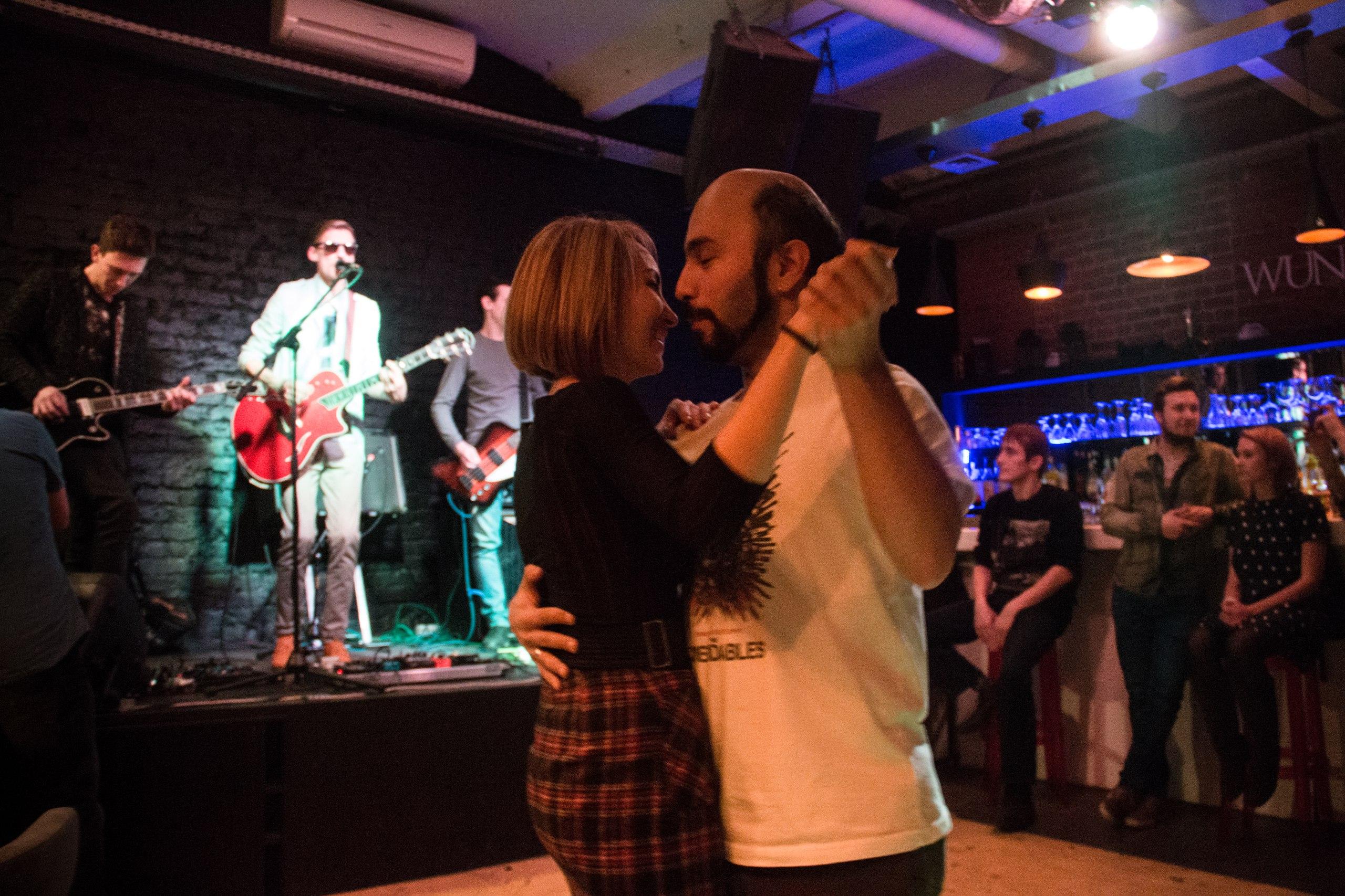 Концерт группы PROMENADE в Wunder Bar: репортаж, фото Дарья Снигирева