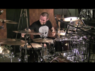 Alex Rudinger (The Faceles) - Xenochrist (drums playthru)
