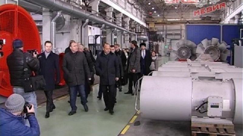 Члены правительства высоко оценили перспективы развития АМЗ Вентпром