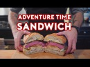 Binging with Babish Jakes Perfect Sandwich from Adventure Time