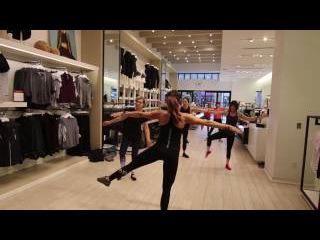Ballet Barre at Calvin Klein Performance 45 minute class 12/17/16