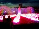 Цветной фонтан в Уфе