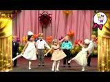 Впервые на большой сцене выступает Саша девочка. Малыши в концерте  красивый арм...