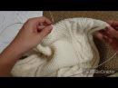 Вяжем свитер LaRoshe спицами. Спинка. Часть 3. Особенности расчета петель.