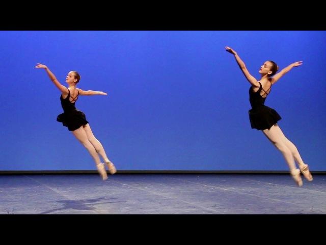 Danse classique filles I - Adage, mazurka, sauts, fouettés / Conservatoire de Paris (ballet girls)