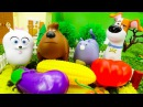 Тайная жизнь домашних животных игрушки в видео для детей! Машинки игры для детей
