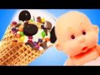 Вредные Детки Bad Baby. АЙС ТОША Видео для детей. Куклы пупсики Дочки матери. Новые м ...