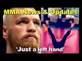 Eddie Alvarez on Conor McGregor 'Just a left hand' Joanna J