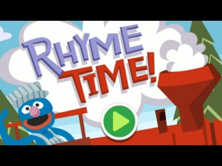 Sesame Street Grover Rhyme Time Train Full Game