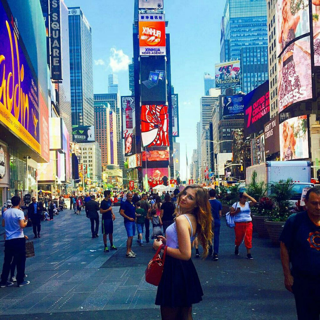 Summer Work and Travel 2016, New York