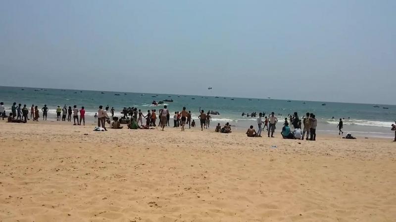Гоа,индусы в отпуске