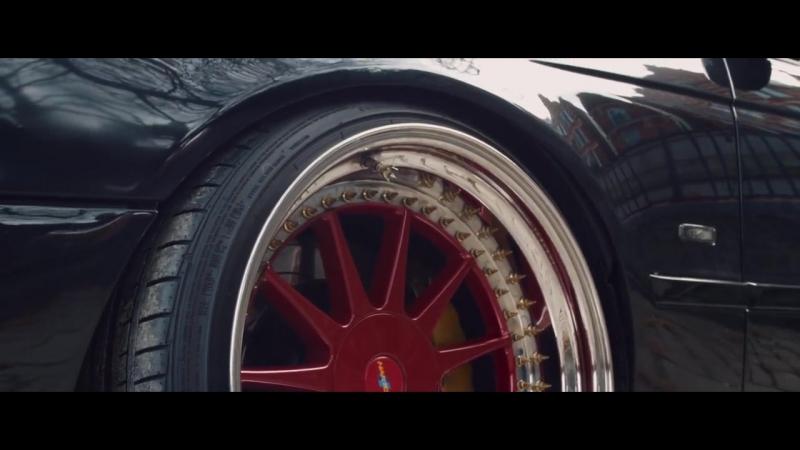 BMW E39 rolls LONDON _ VIOLENT CLIQUE _ STANCE _ AUTOMOTIVE VISUAL _ 4K