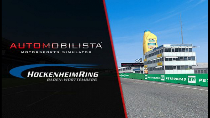 Automobilista Legendary Tracks Part 3 Hockenheim Update v1.4.7