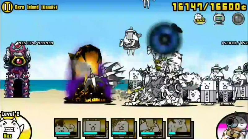 Battle cats - Ogre Island (Deadly) [Easy?×Win]