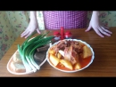 Азербайджанский суп БОЗБАШ