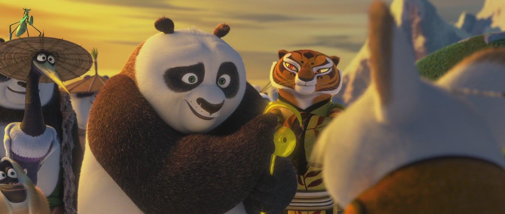 тигрица и панда кунг-фу 2016