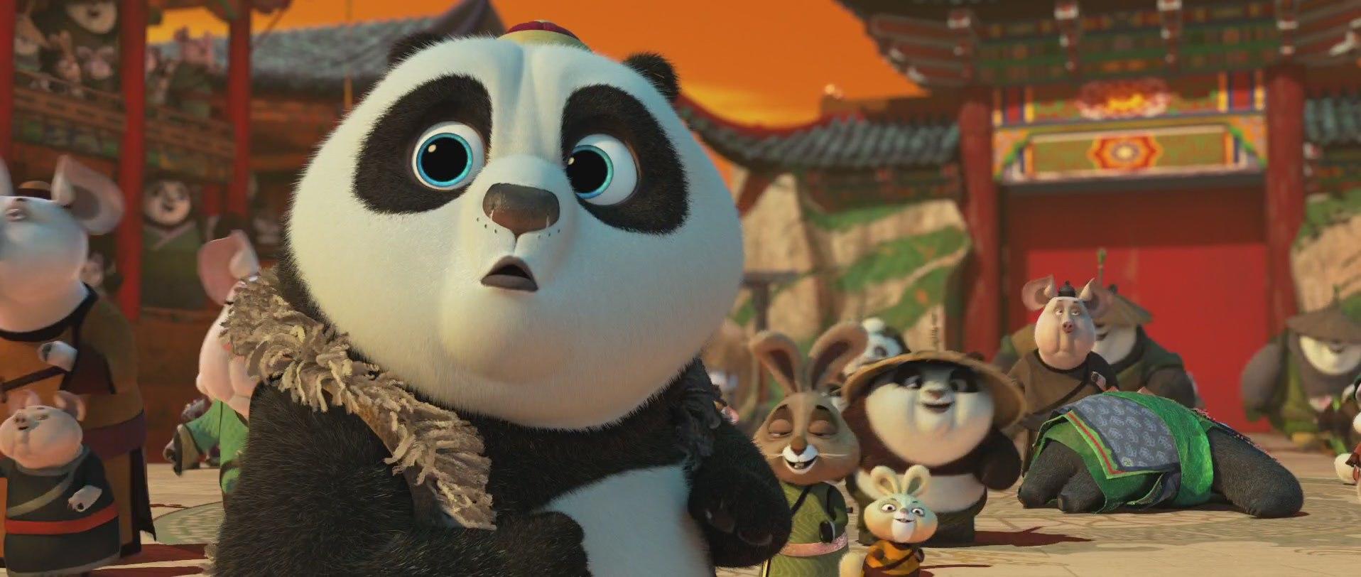 малая панда из мультика кунг-фу панда 3