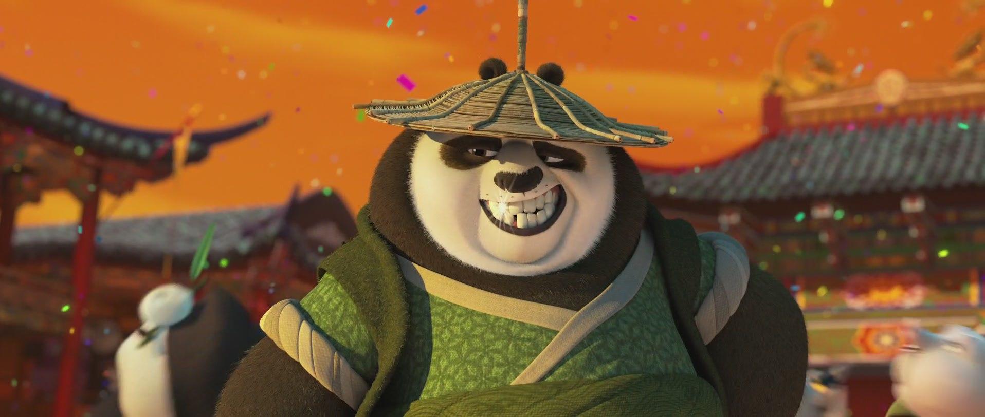 отец панды кунг-фу 2016
