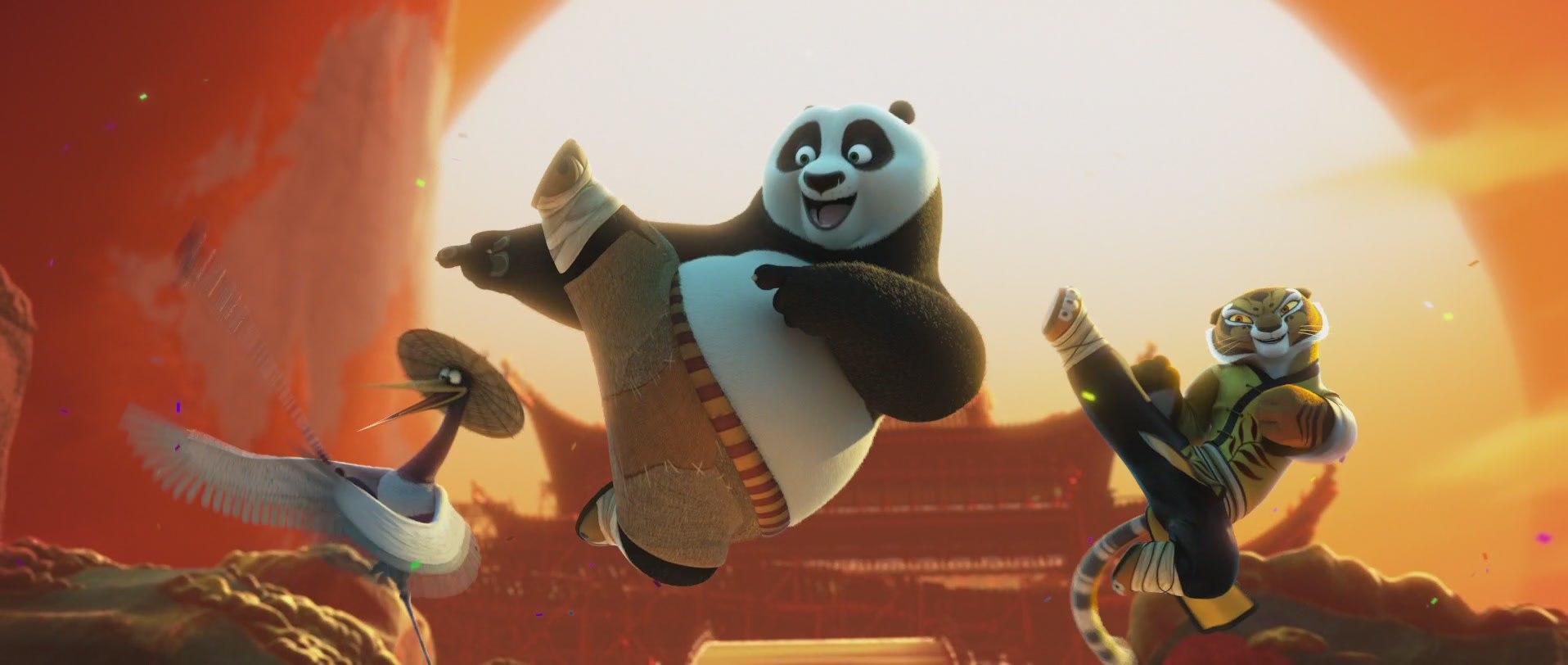 мультфильм панда кунг-фу 2016