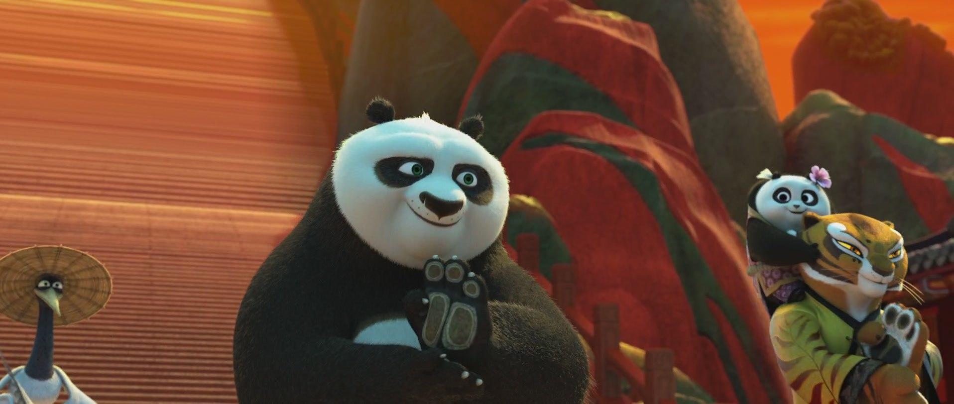 лучшие скриншоты с мультфильма панда кунг-фу 3