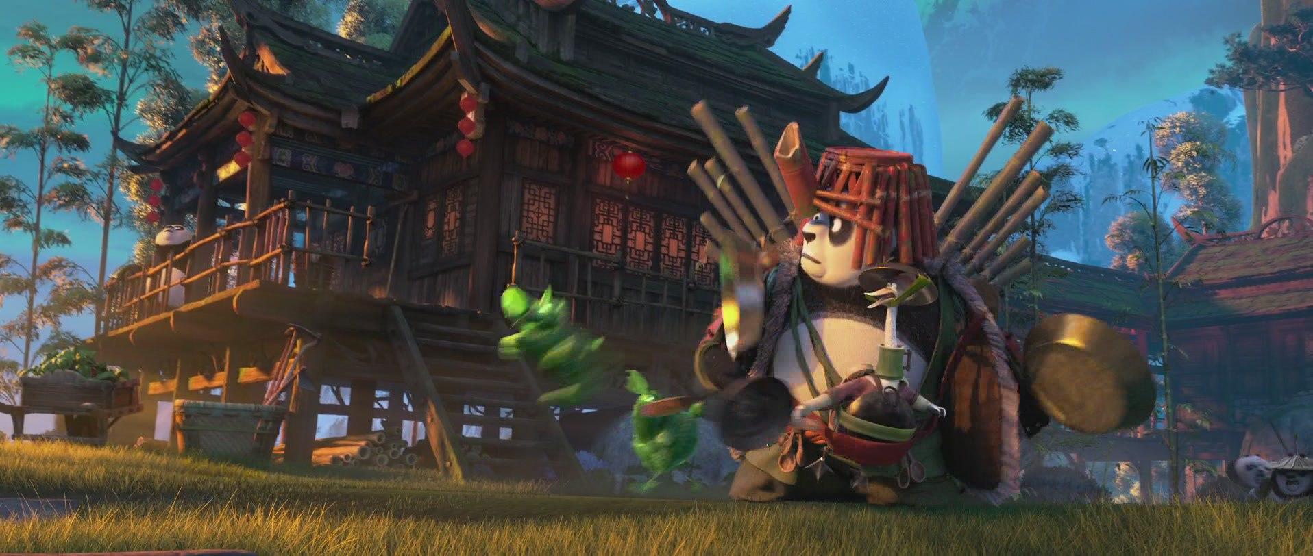 отцы панды кунг-фу 3