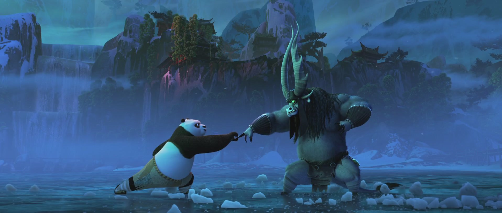 лучший кадр с мультфильма кунг-фу панда 3