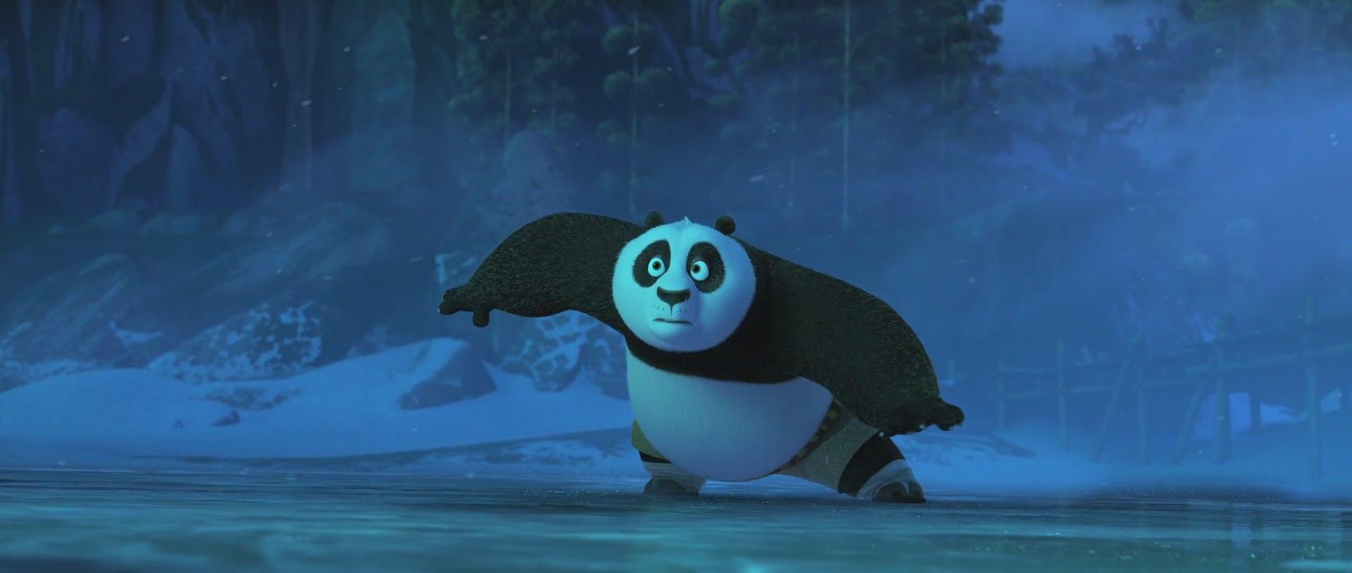 кунг-фу панда в шоке