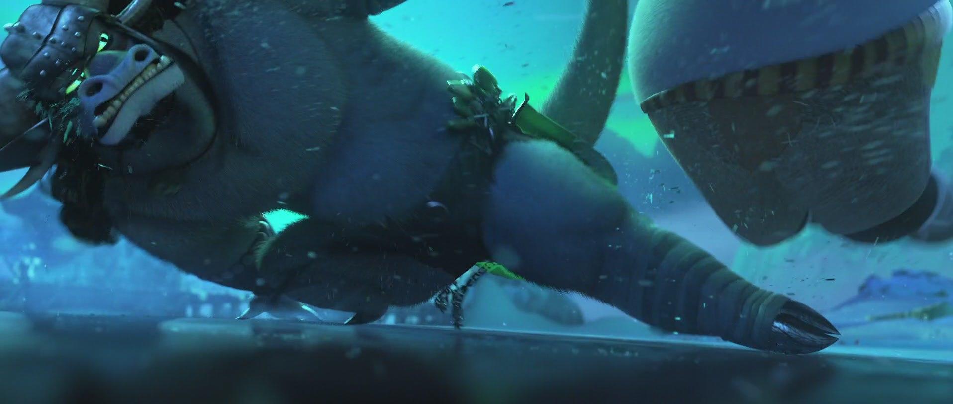 бык из мультфильма кунг-фу панда 3