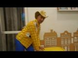 История игрушек в Одессе babysitters клоуна Юрика