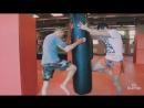 Парная работа на мешке Урок 1 тренировки по тайскому боксу Muay Thai с Андре