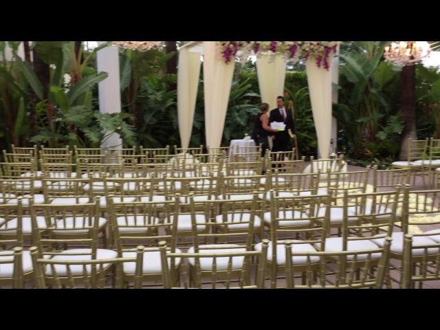 USA Wedding, The Island Hotel, New Port Beach