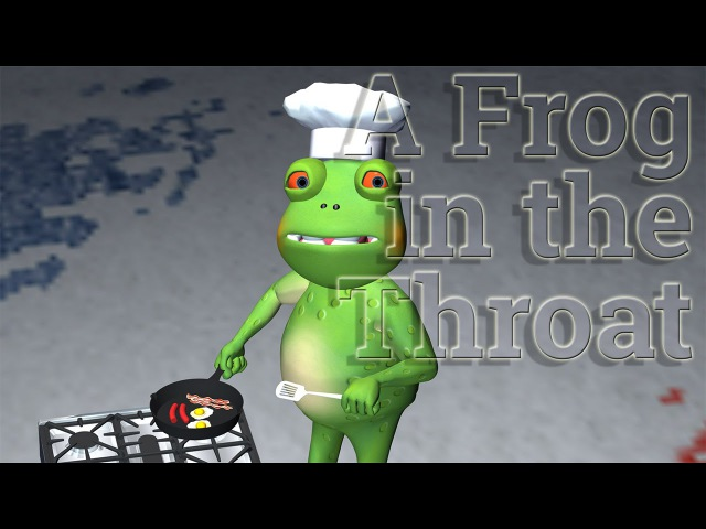 Understand English Humour – Frog in the Throat