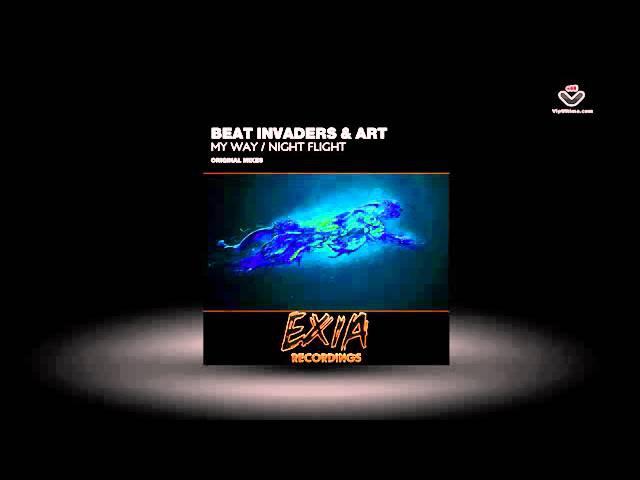 Beat Invaders Art - My Way / Night Flight Exia Recordings