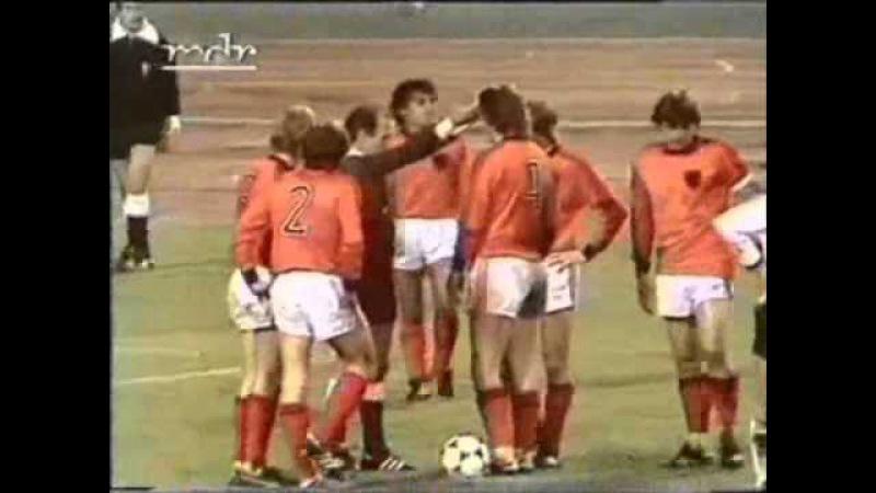 Fußball EM 1980 Qualifikation: DDR - Niederlande 2:3