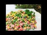 Салат НОВОГОДНИЙ КРУИЗ. Вкусный, яркий и бюджетный! КОНКУРС. New Year's salad.