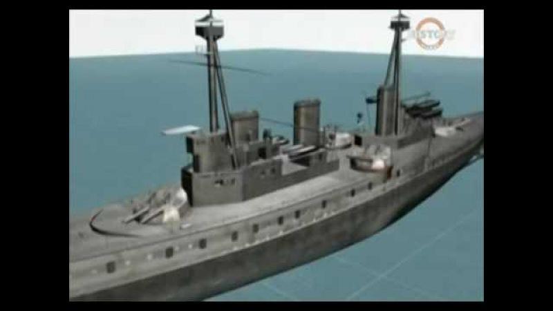 1915г Первая мировая война ..История Ютландской битвы ..Британский флот против Германского флота