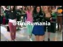 """Violetta 3 - Capitulo 34 - Las Chicas Ensayando La Coreografia De """"Ven Con Nosotros/Salta""""."""