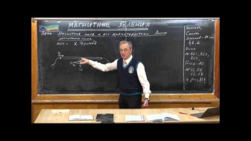 Урок 270. Магнитное поле и его характеристики » Freewka.com - Смотреть онлайн в хорощем качестве