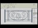 Kovka3D v 1 3 Проектирование кованого забора