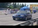 715HP Audi S4 C4 Quattro 2.5T stroker 1/8 mile drag race