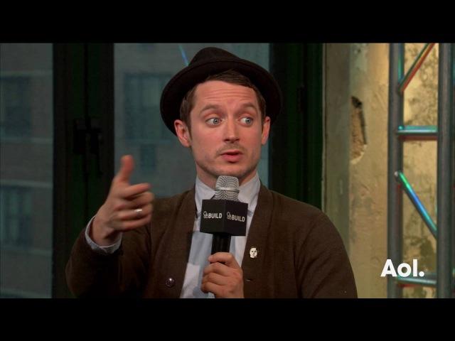 "Elijah Wood And Samuel Barnett Discuss ""Dirk Gently's Holistic Detective Agency"" | BUILD Series"