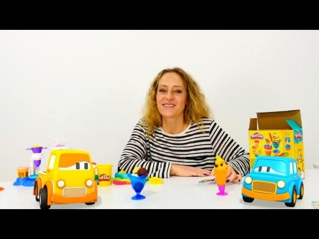 Türkçeizle.Nicole Max ve Boo arabaları için Play Doh`tan dondurma yapıyor🍦🍨hamuroyunları