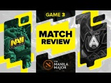 Match review: Na`Vi vs Alliance - Game 3 @ The Manila Major